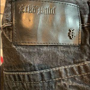 Ecko Unlimited Shorts - Mens jean shorts